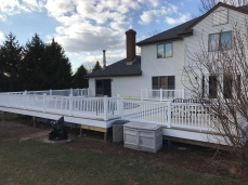 Custom deck in Frenchtown
