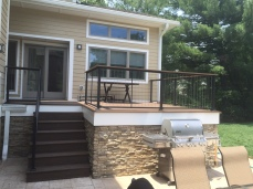 Custom railings in Englewood Cliffs