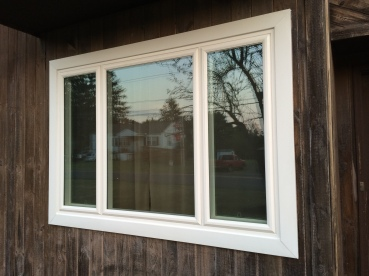Picture Window With Two Side Casement Windows