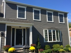 Completed James Hardie siding installation in Hillsborough, NJ
