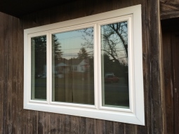 Triple Window Center Picture Window With Side Casement Windows