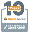Home Advisor 10 Year Screened & Approved